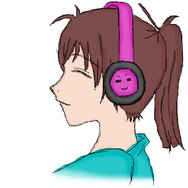 Listening to Music by ChibiBel