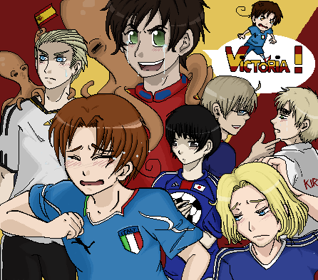 Hetalia - Mundial 2010  by Lashana - 00:08, 25 Jun 2010