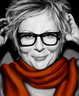 Jennifer Saunders by Sharmi